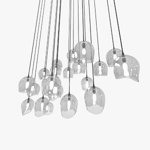 chandelier glass spheres max