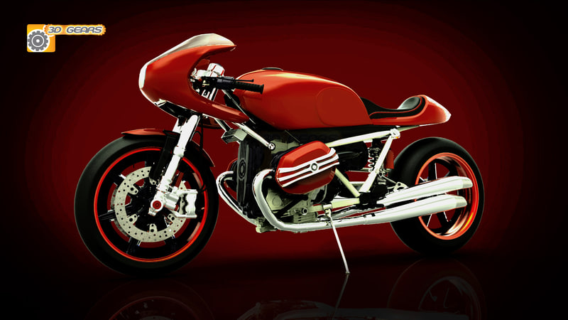 3d model bike concept 90 2008