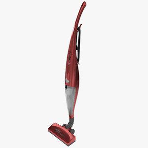 3d bagless stick vacuum hoover