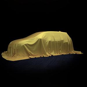 3dsmax cloth car