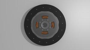 3d model clutch disk