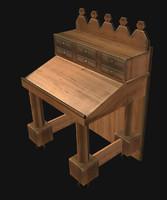 free x mode medieval desk