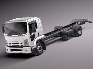 3d model 2010 2013 truck semi