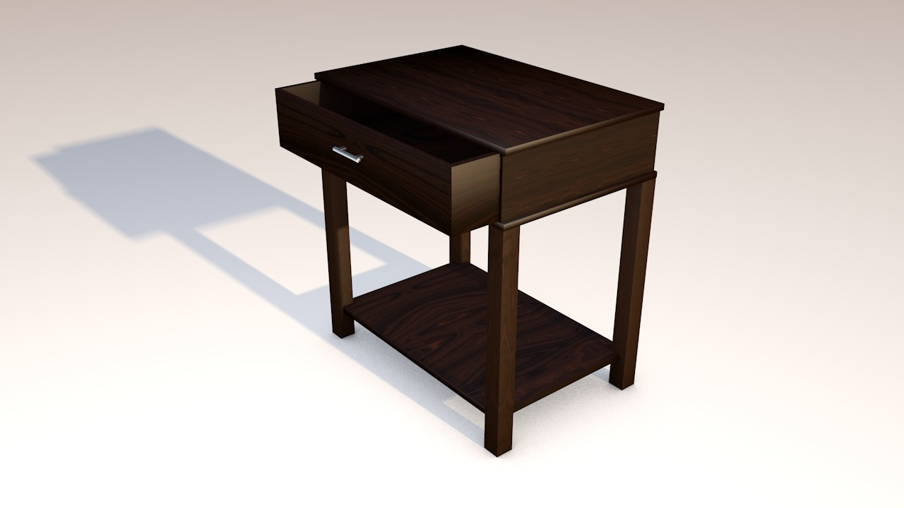 night stand 3d 3ds