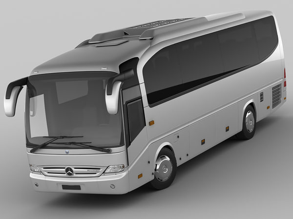 3d model mercedes tourino tour