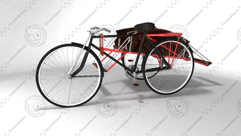 maya myanmar trishaw