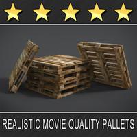 pallets 3d model