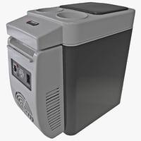 3d model of personal fridge wagan