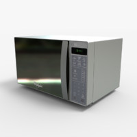 3ds max wm1207d microwaves
