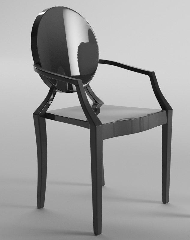 chair philippe starck c4d. Black Bedroom Furniture Sets. Home Design Ideas