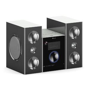 mini hi-fi set max