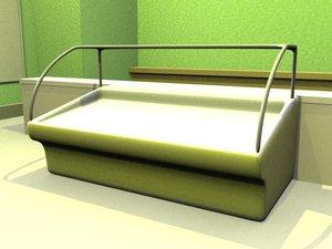 3ds display refrigerator