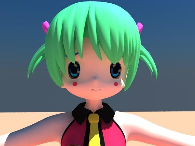 max anime girl