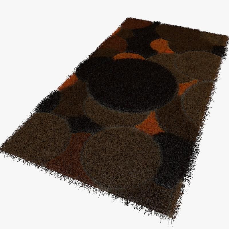 3d carpet rug 03