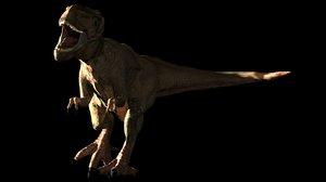 dinosaur animation max