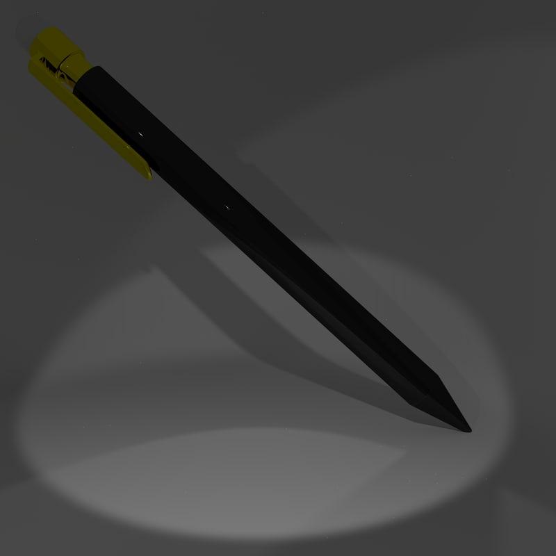 obj pen pencil