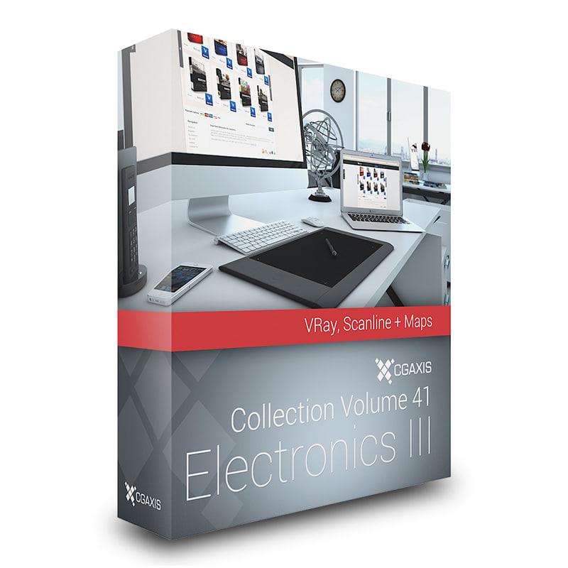 3d model volume 41 electronics iii