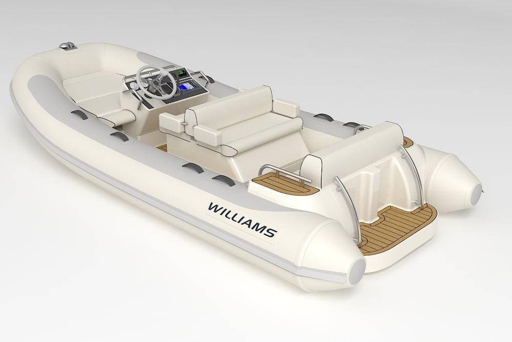 williams d445 tender motorboat 3ds