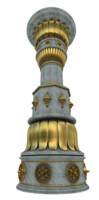 indian pillar 3d model