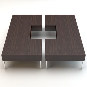 3d max porada table puzzle