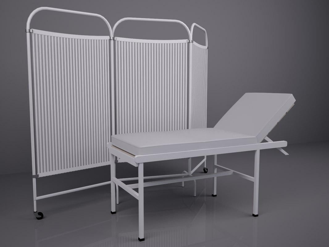 3d model of rooms basic medical