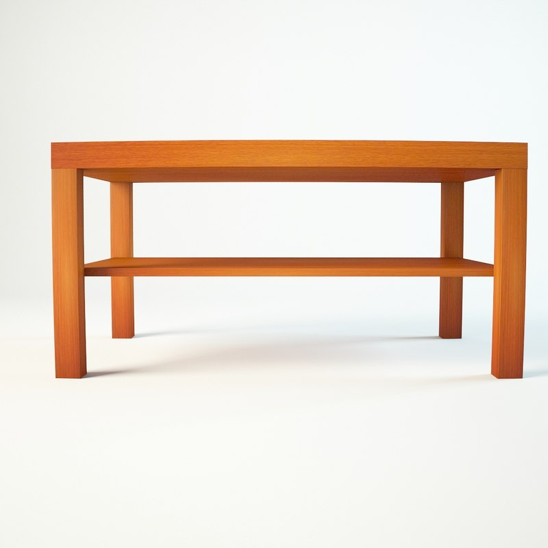 coffe table ikea 3d model