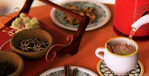 tea cookies table c4d