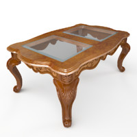 Babette Glass Coffee Table