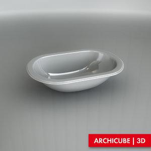basin washbasin 3d model