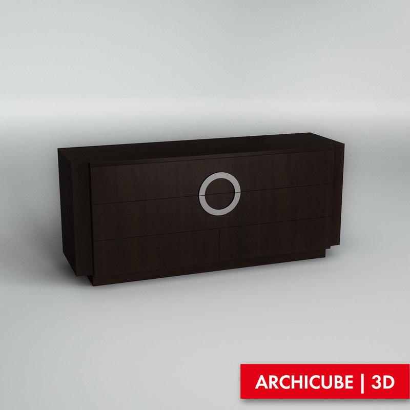 chest drawer obj