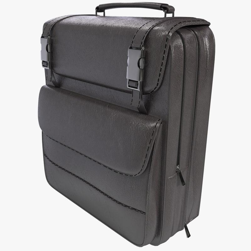 3d model of backpack 9