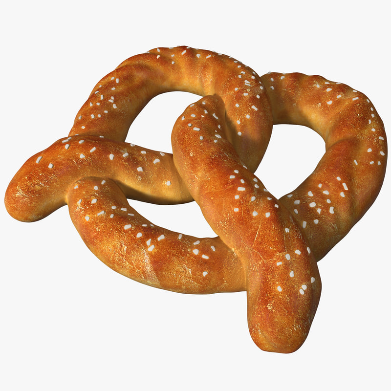 big pretzel 2 3d model