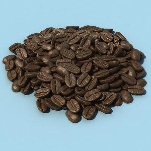 pile coffee beans max