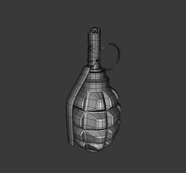 blend f-1 grenade