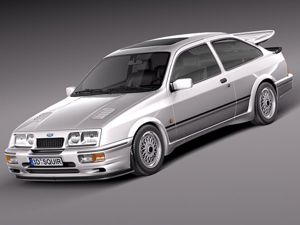 3d model classic 1986 1992 sierra