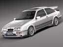 ford sierra 3D models