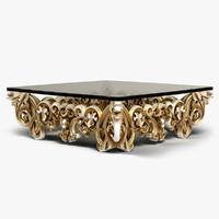 designed table 3d model