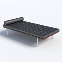 Mies Van Der Rohe Day Bed