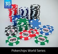 3dsmax wsop poker chips