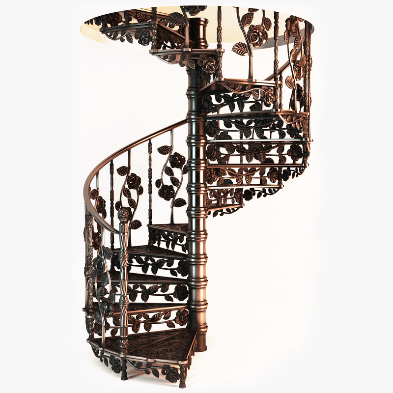 stair designed 3d model