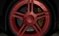 free tires sports cars 3d model