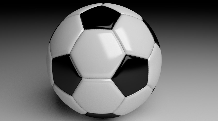 simple soccer ball 3d 3ds