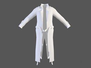 3d model jacket man