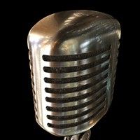 model of shure 55sh microphone