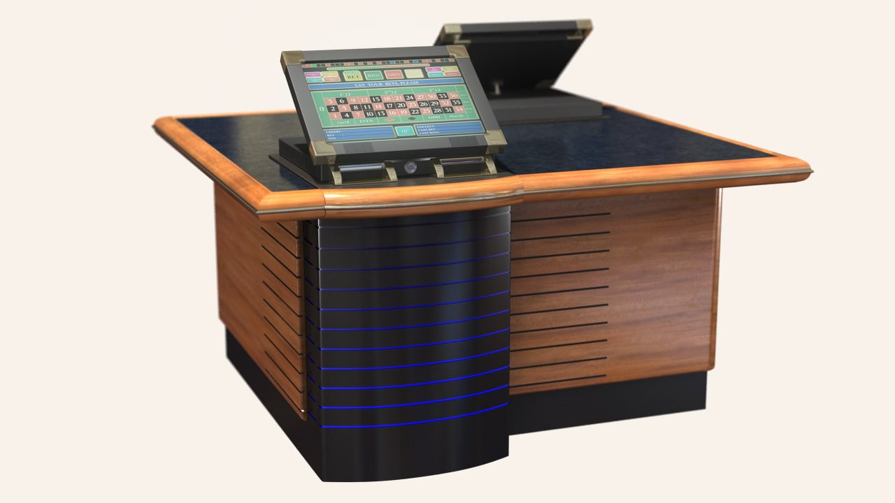 3d electronic casino roulette standalone
