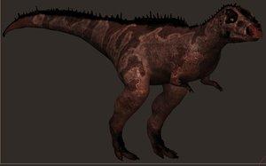 maya allosaurus tyrannosaurus rex