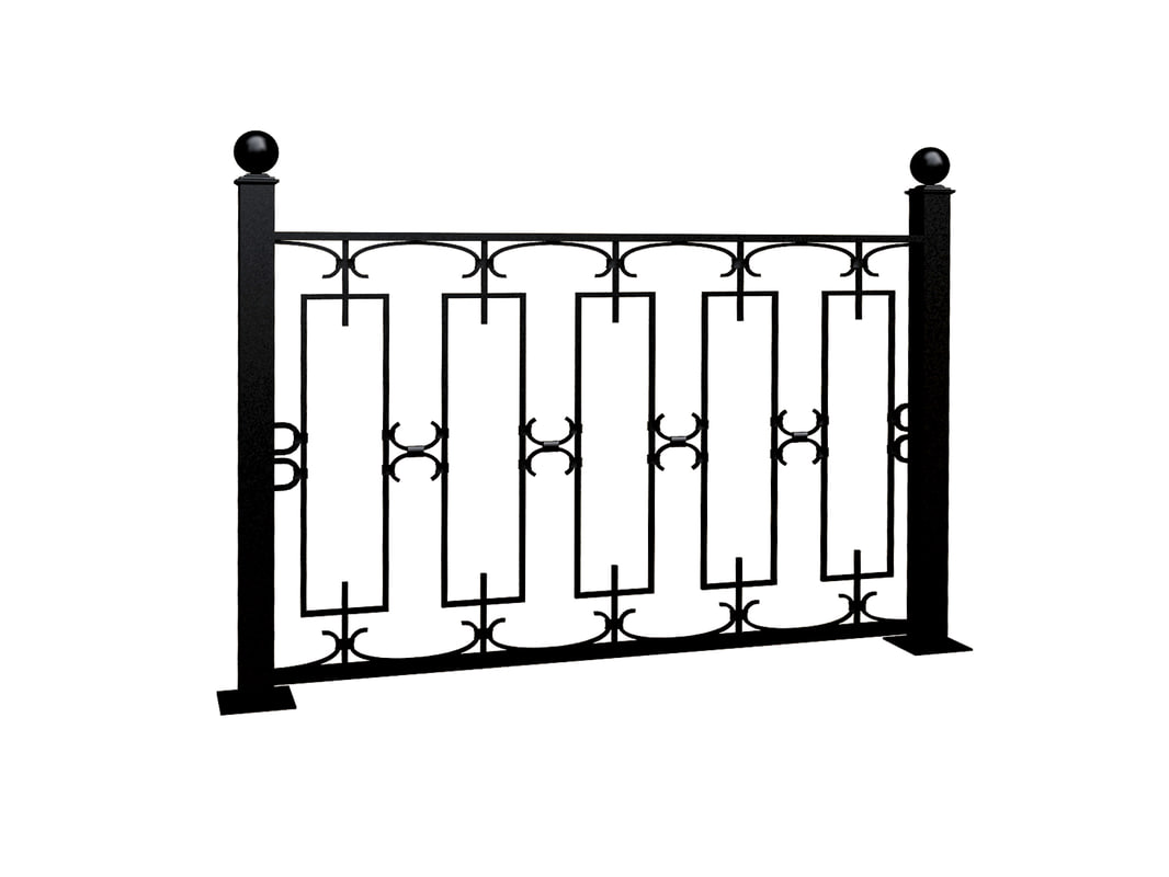 section fence 3d 3ds
