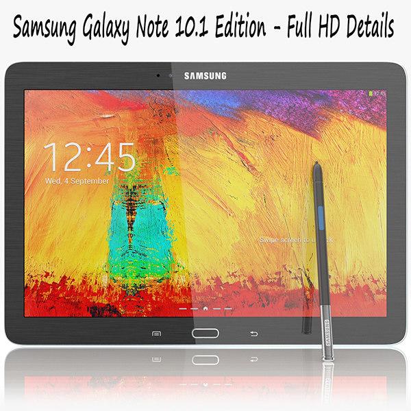 3d model samsung galaxy note 10