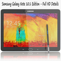 Samsung Galaxy Note 10.1 Edition Black - White
