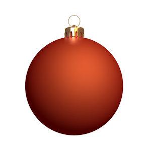 max christmas ball ready render